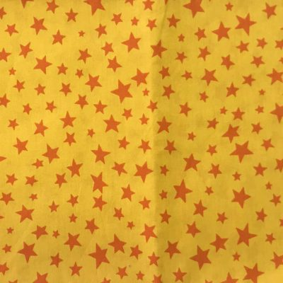face mask yellow stars