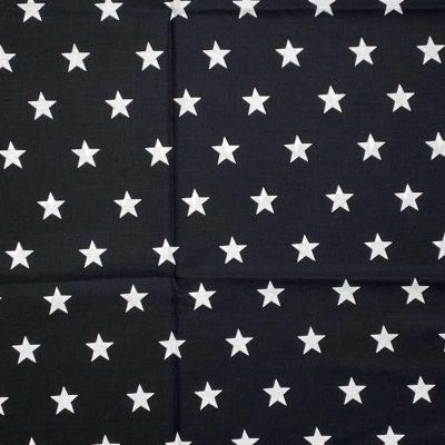 face mask black stars